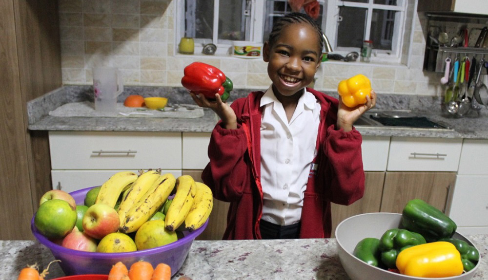 Kenyan musician wants every girl to get the good nutrition they need