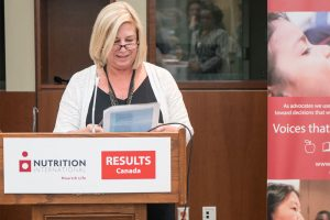 Chris Dendys, Interim Executive Director, RESULTS Canada