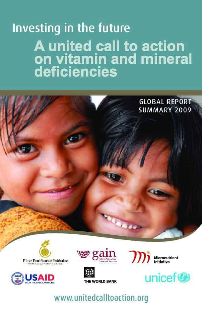 Investing in the future: A united call to action on vitamin and mineral deficiencies thumbnail
