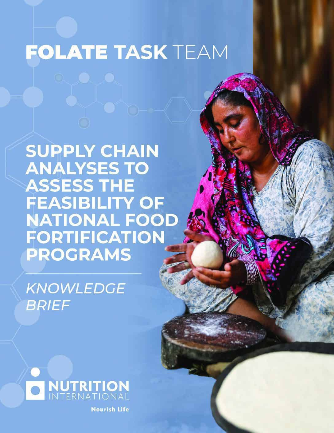 Knowledge Brief – Supply chain analyses to assess the feasibility of national food fortification programs thumbnail