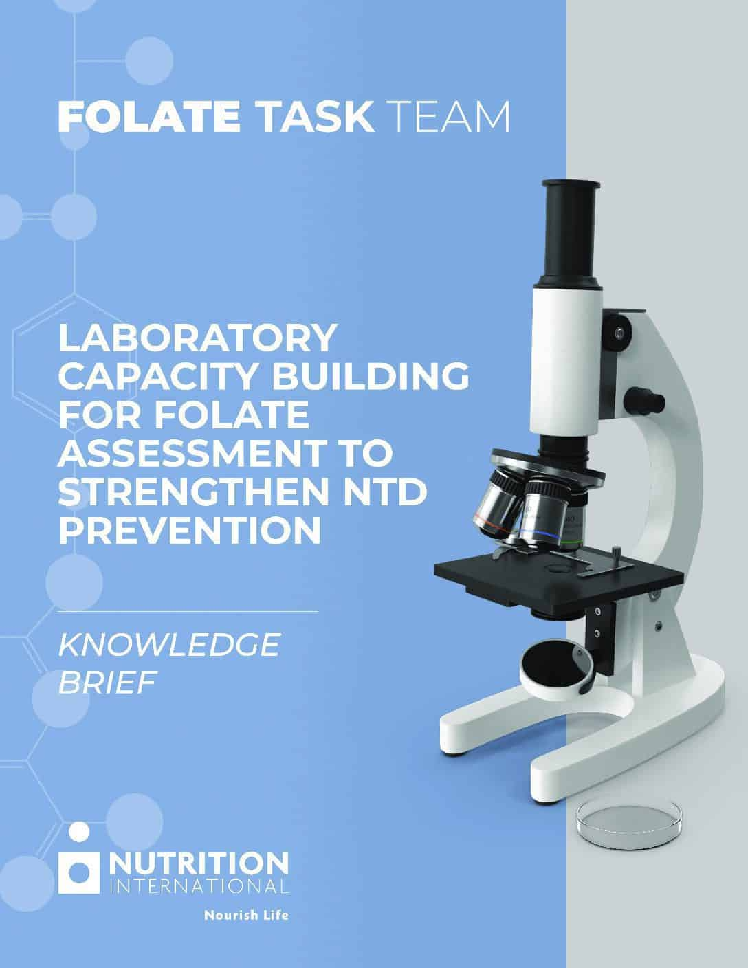 Knowledge Brief – Laboratory capacity building for folate assessment to strengthen NTD prevention thumbnail