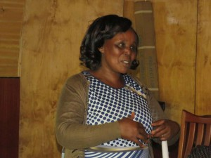 Angeline Korir, a nutrition advocate in Nandi County