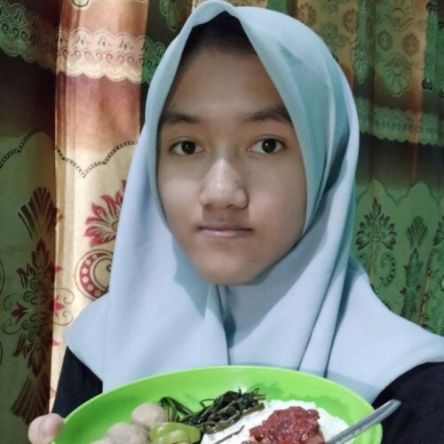 Ina, an adolescent girl in Indonesia