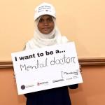 Mansura wants to be a psychiatrist