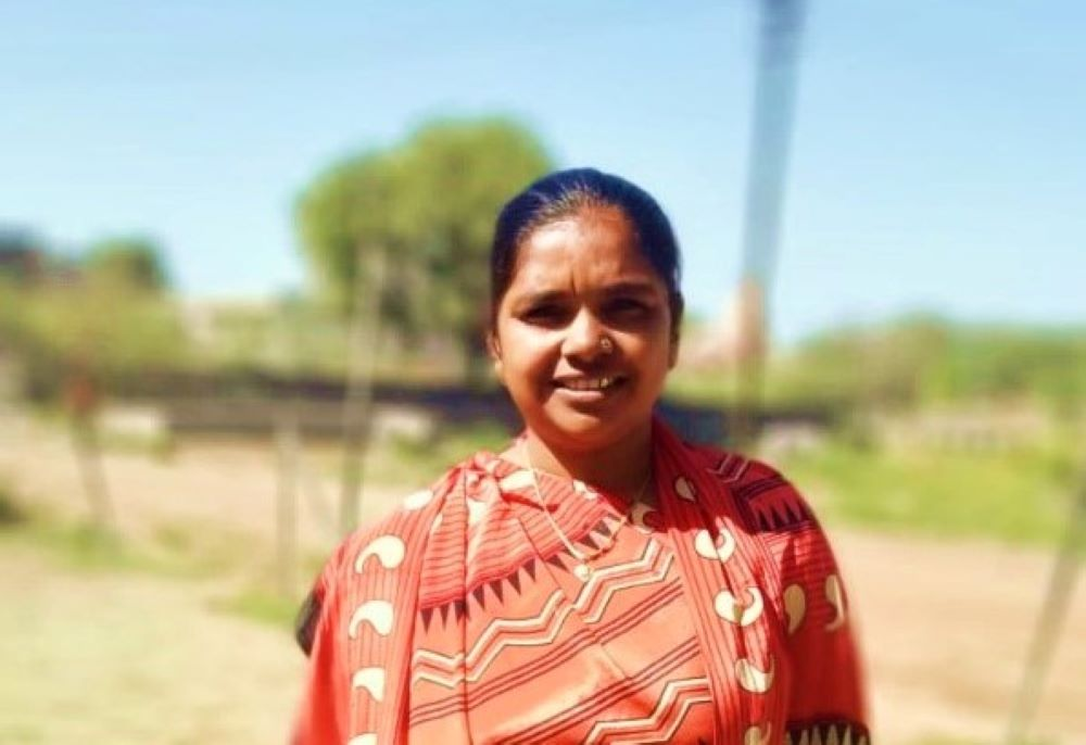 Rekhaben is a health worker in Gujarat