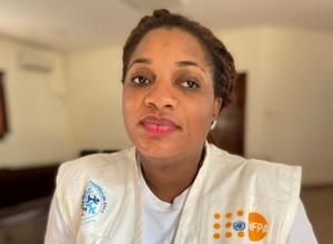 Midwife Rita Momoh in Nigeria