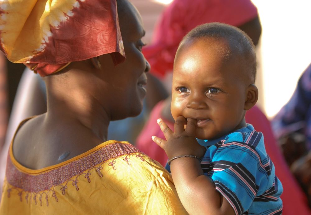 Senegalese mother and child