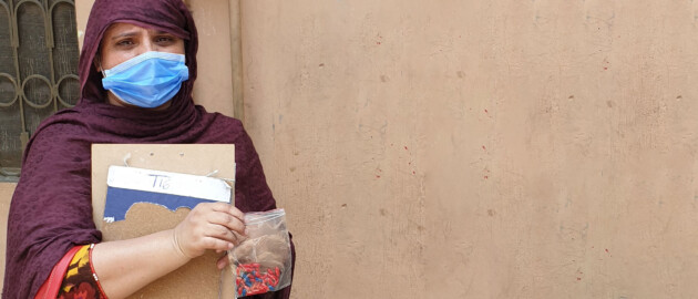 Shazia's story: Vitamin A Supplementation during COVID-19 in Pakistan