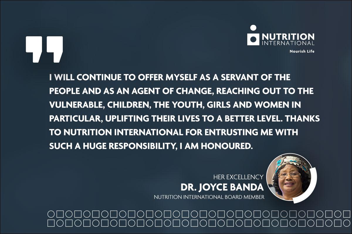 Joyce Banda quote