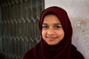 adolescent girl in Pakistan