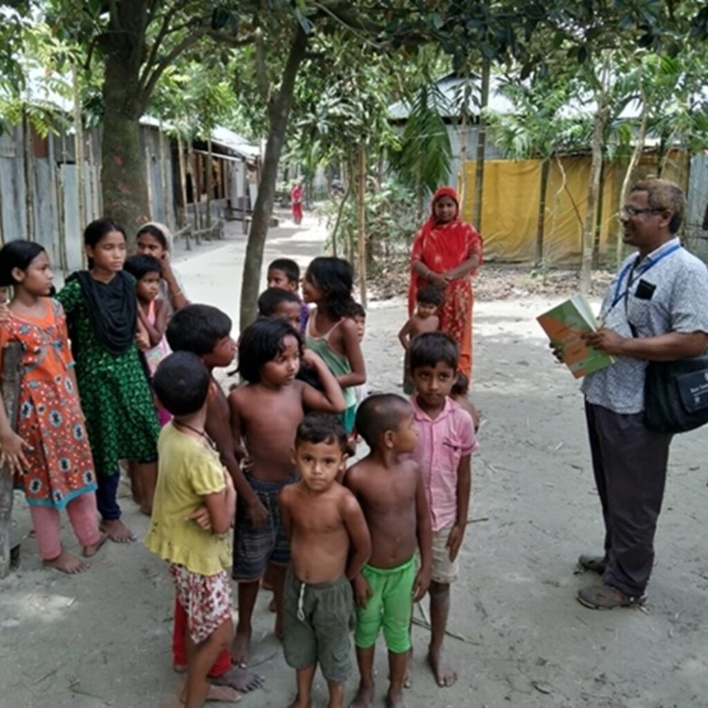 Image of Zinc saves lives of children in riverine communities in Bangladesh