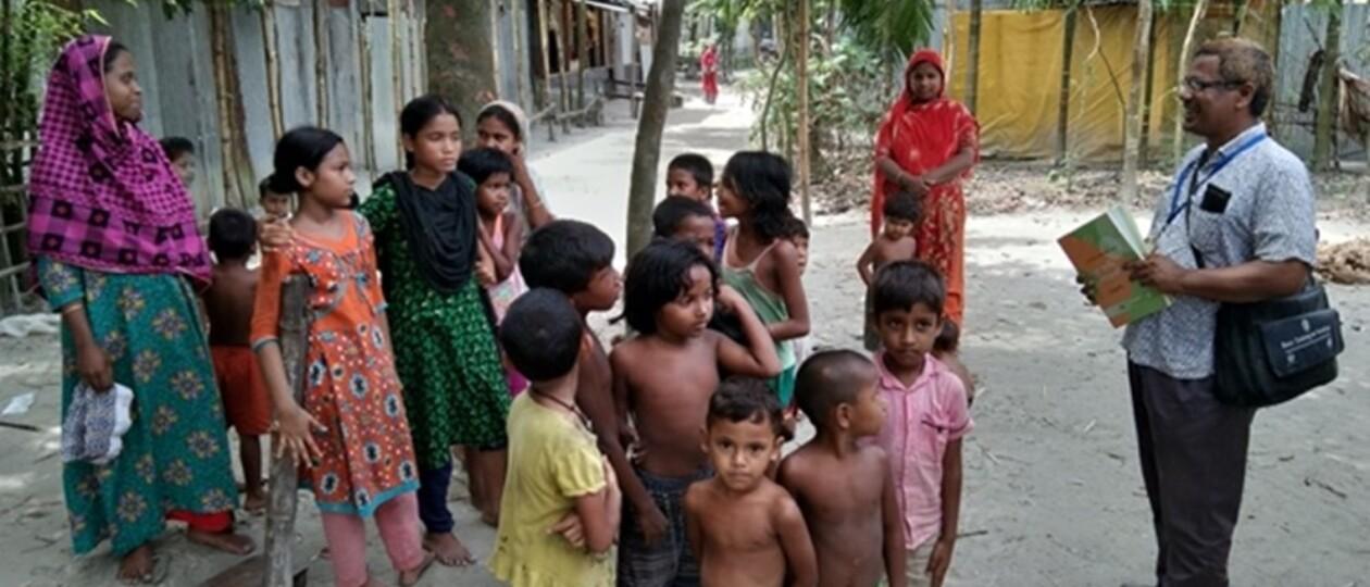 Zinc saves lives of children in riverine communities in Bangladesh