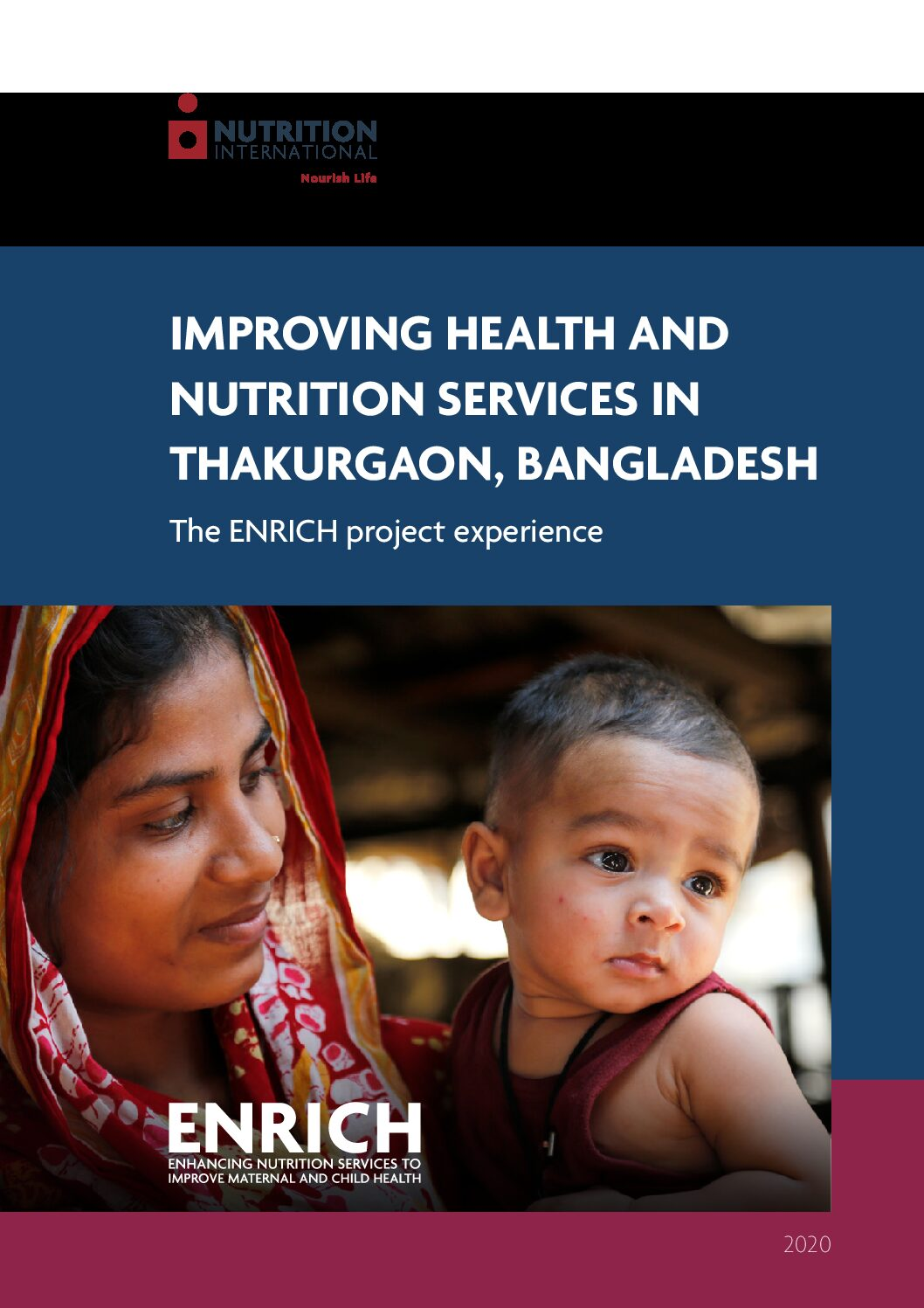 Improving Health and Nutrition Services in Thakurgaon, Bangladesh: The ENRICH project experience thumbnail