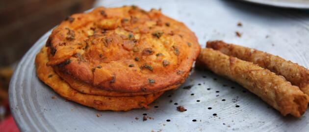 Various food items for Pakistan