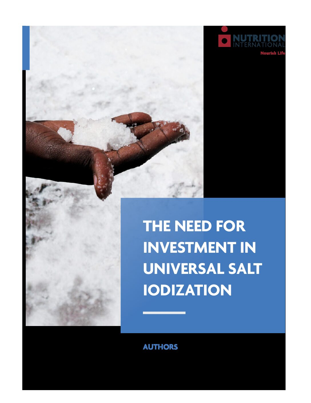 The Need for Investment in Universal Salt Iodization thumbnail