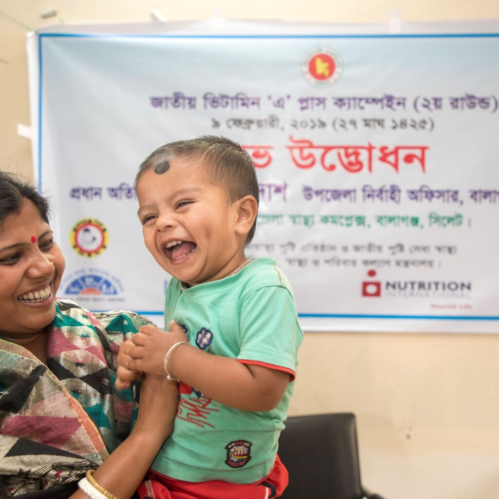 Image of Going the distance to deliver vitamin A in Bangladesh