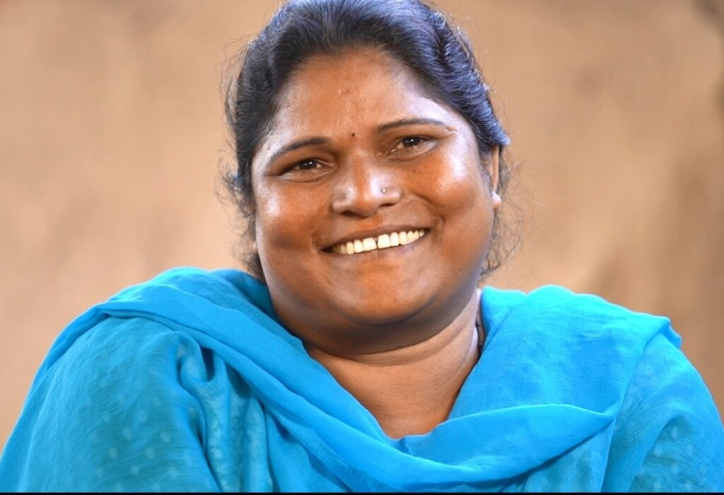 Image of Female entrepreneur becomes nutrition champion in her village