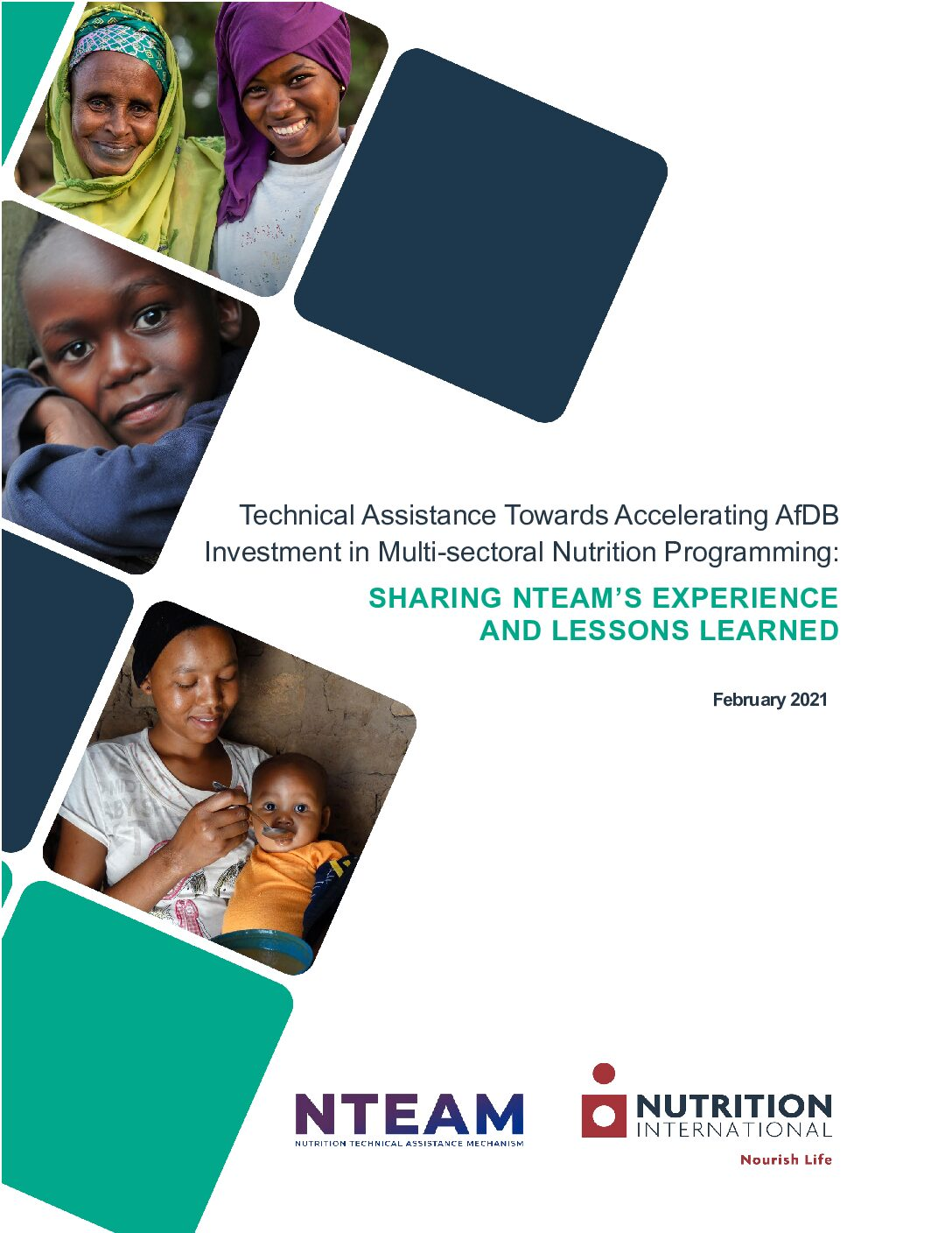 Technical Assistance Towards Accelerating AfDB Investment in Multi-sectoral Nutrition Programming: Sharing NTEAM'S Experience and Lessons Learned thumbnail
