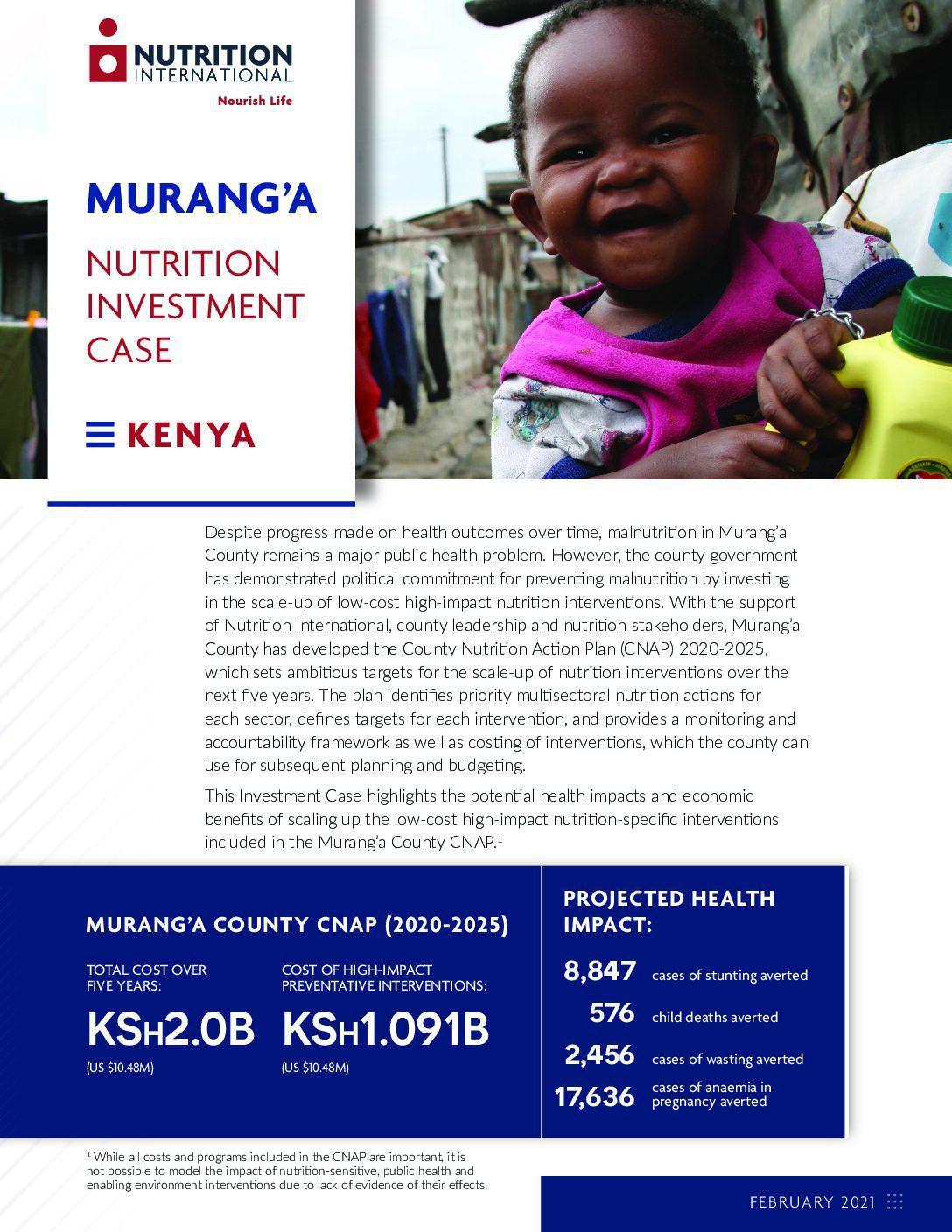 Murang'a County Nutrition Investment Case thumbnail