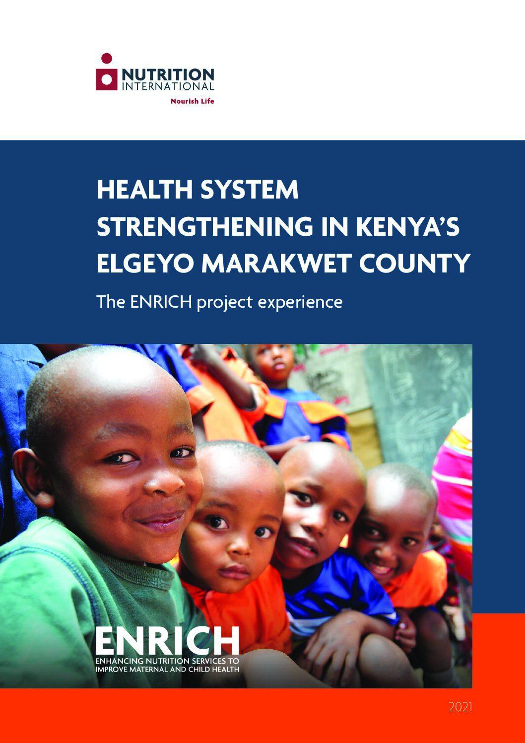 Health System Strengthening in Kenya's Elgeyo Marakwet County thumbnail