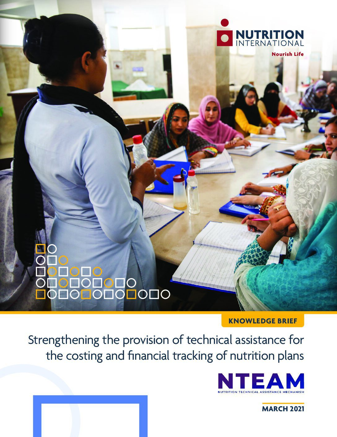 Strengthening the provision of technical assistance for the costing and financial tracking of nutrition plans thumbnail