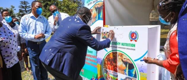 kiambu county official signs ceremonial CNAP