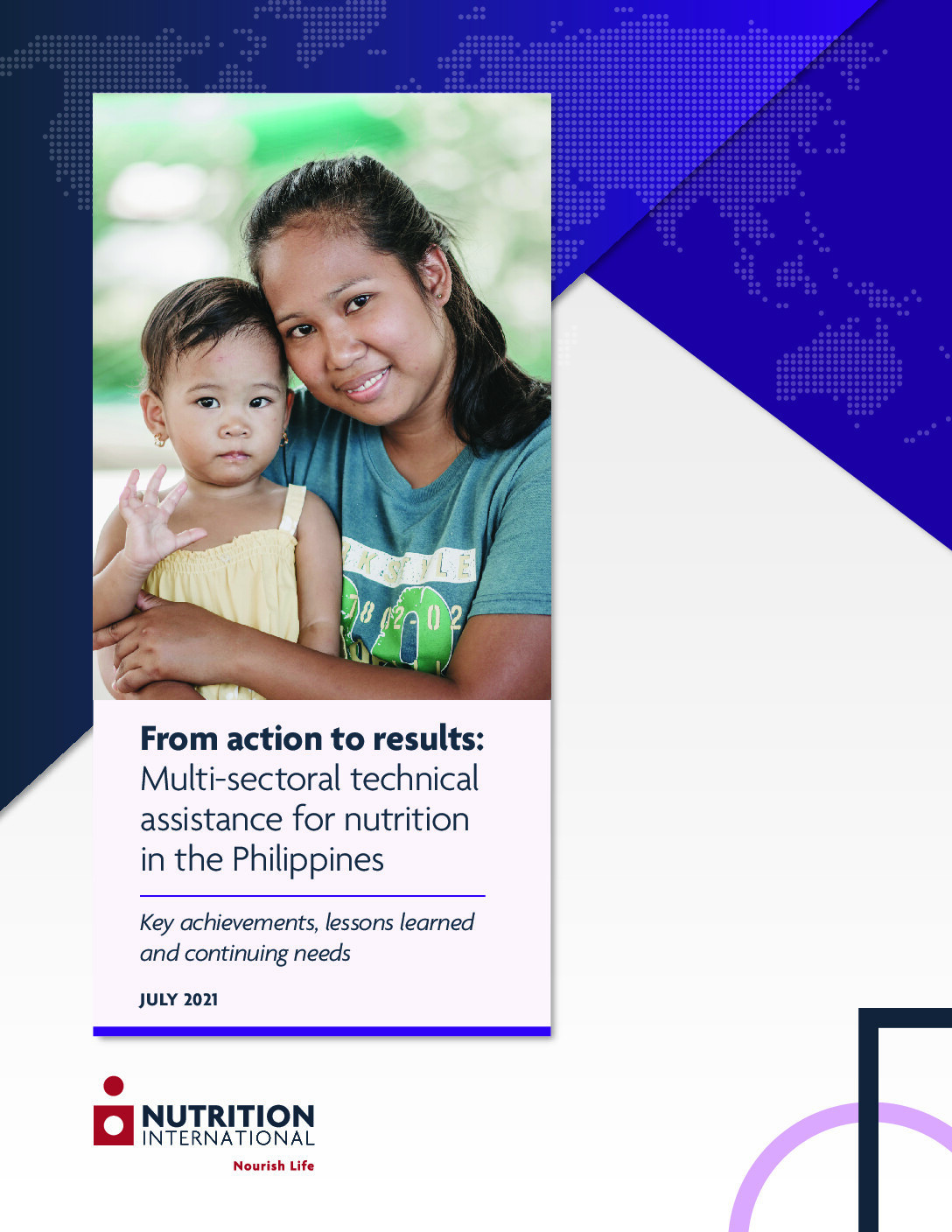 From action to results: Multi-sectoral technical assistance for nutrition in the Philippines thumbnail