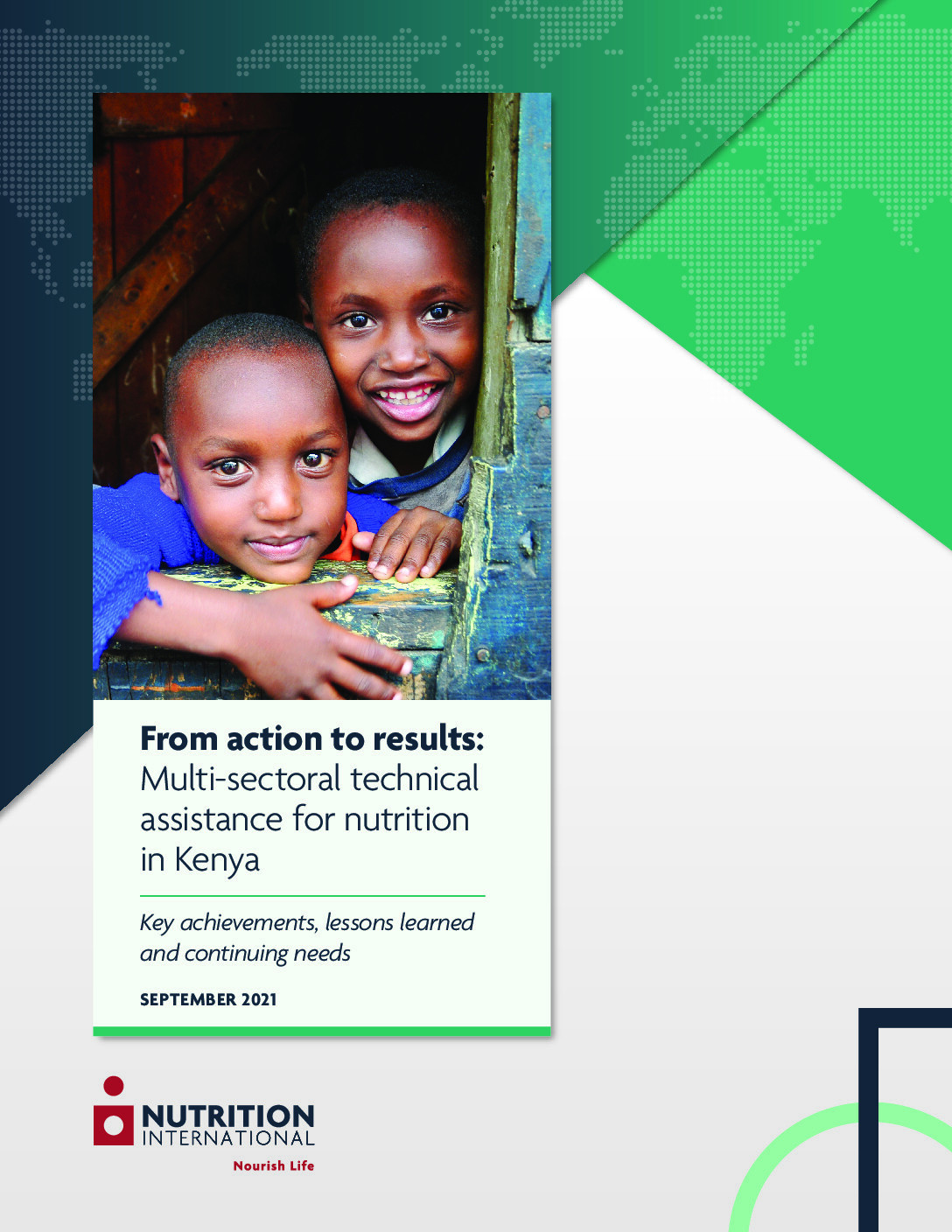 From action to results: Multi-sectoral technical assistance for nutrition in Kenya thumbnail